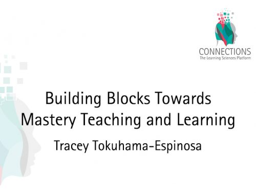 Building Blocks Towards Mastery Teaching and Learning