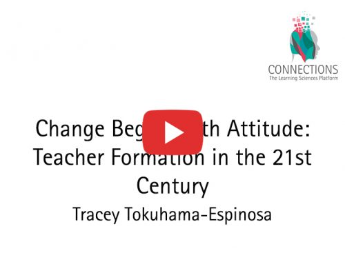 Change Begins with Attitude: Teacher Formation in the 21st Century