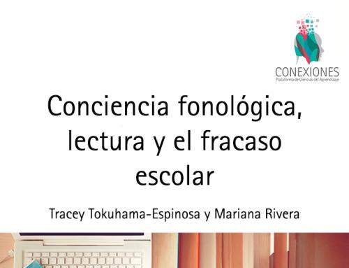 Conciencia fonológica, lectura y el fracaso escolar