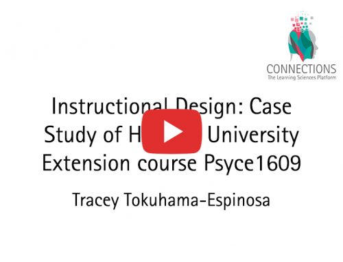 Instructional Design: Case Study of Harvard University Extension