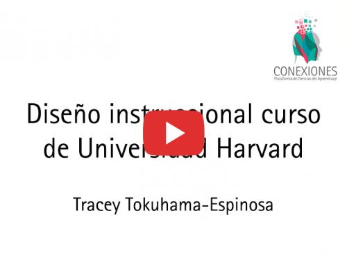 Diseño Instruccional Curso de Universidad Harvard