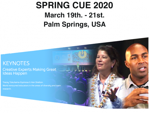 Tracey Tokuhama in Spring CUE 2020