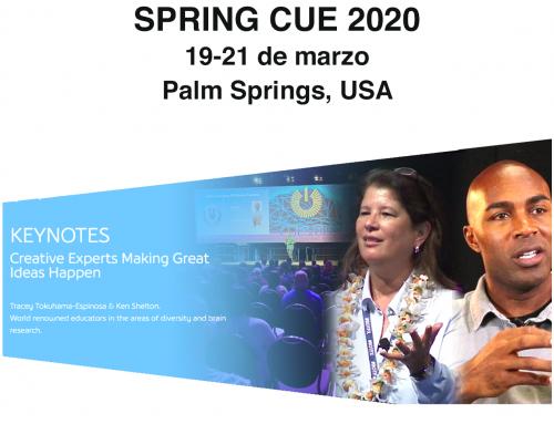 Tracey Tokuhama en Spring CUE 2020
