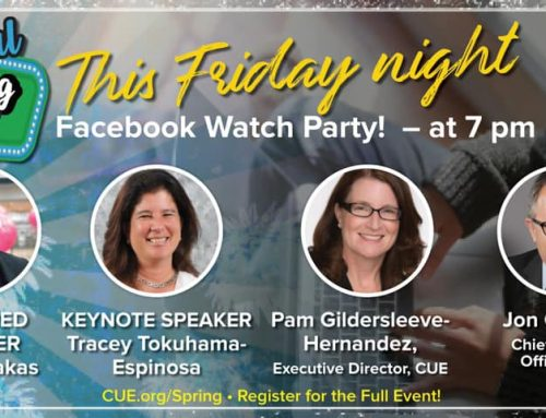 Facebook Live: Aplicando los conocimiento de MCE al aula virtual (21h00 hora Quito)
