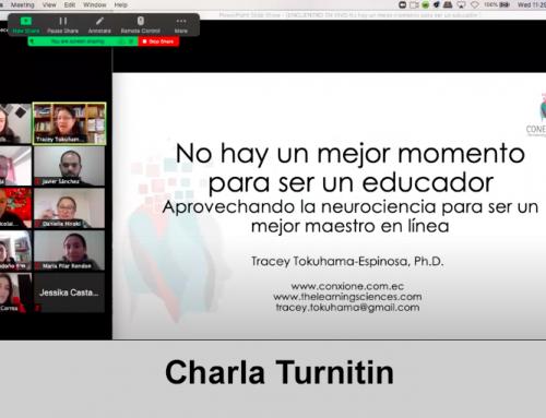 Tracey Tokuhama-Espinosa en evento Turnitin: «No hay mejor momento para ser un(a) educador(a)»