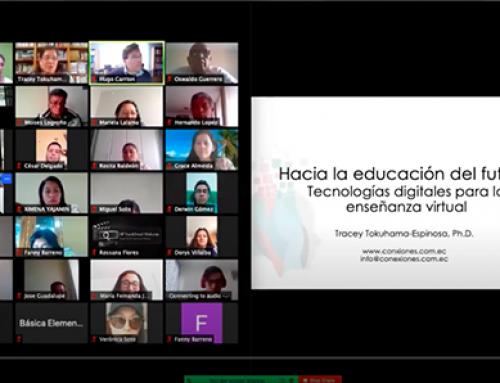 Charla «Hacia la educación del futuro» por Tracey Tokuhama-Espinosa