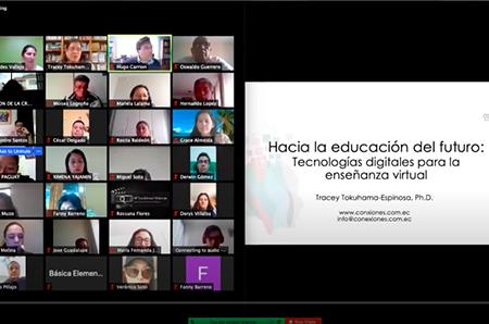 charla educación futuro