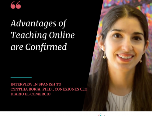 Advantages of Teaching Online are Confirmed, by Cynthia Borja, Ph.D.